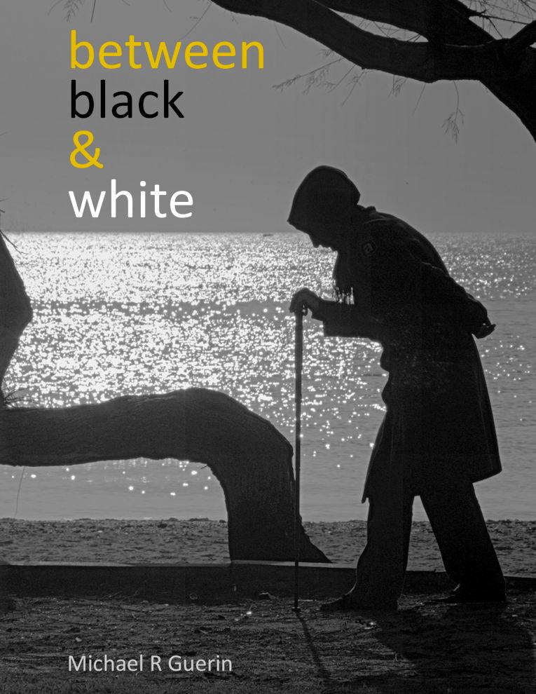between black & white